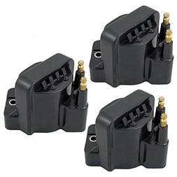 3-Piece Set Ignition Spark Plug Coil Pack Modules Replacemen