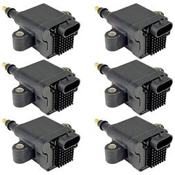 CALTRIC 6-PACK IGNITION COILS Fits MERCURY OUTBOARD 200 225