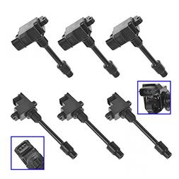 6 Piece Ignition Coil Full Set Kit for 95-99 Nissan Infiniti