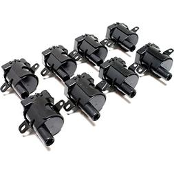 Diften 610-A0084-X01 - New Ignition Coil Pack Set of 8 Avala