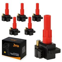 6Pcs Ignition Coil Pack Fits Subaru B9 Tribeca Legacy Outbac