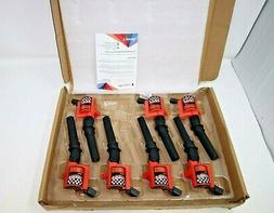 Bravex 7 Pack Straight Boot Ignition Coils 15% More Energy F