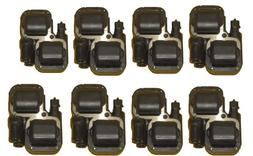 Bosch 8 Piece OEM Ignition Coil Set # 0221503035 / 00107 - M