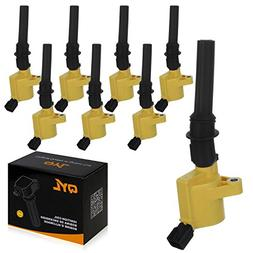 8Pcs High Performance Ignition Coil Pack Fits Ford F150 F250
