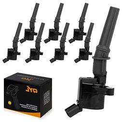 8Pcs Ignition Coil Pack Fits Ford F150 F250 F350 Lincoln Mer