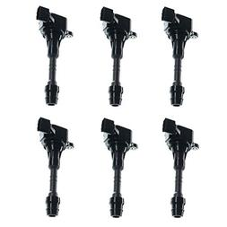 A-Premium Ignition Coils Pack for Nissan Altima Frontier Max