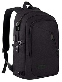 02b5c62a719e Anti Theft Business Laptop Backpack with USB Charging Port F