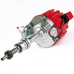 Brand New Compatible Ignition HEI Red Cap Distributor with 6