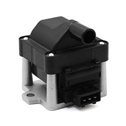 uxcell DC 12V Ignition Coil for VW Cabrio Eurovan Golf Jetta