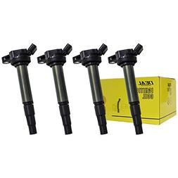 DEAL 4pcs New Ignition Coils Plug Pack For Matrix Corolla Pr