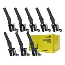 DEAL pack of 8 Brand New Ignition coils on Plug Pack With Bo