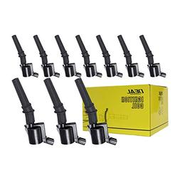 DEAL Set of 10 New Ignition Coil on Plug Pack With Boot For