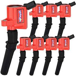 DG508 Ignition Coils Pack For Ford F150 F250 Lincoln Mercury