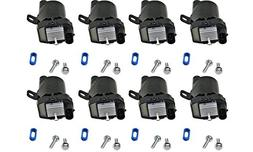 Evan-Fischer EVA1380809140790 Set of 8 Coil pack Ignition Co