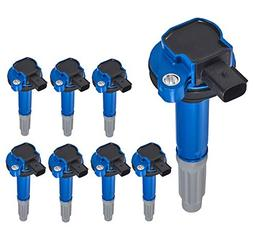 high performance pack of 8 ignition coil
