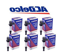 ACDelco Ignition Coil D501C 12613057, 12629037 6 pack