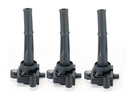 Ignition Coil Pack Set of 3 - Coil Pack Fits Toyota Tacoma,