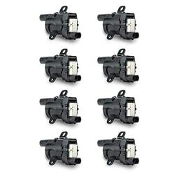 Ignition Coil Pack Set of 8 - Fits V8 Chevy Silverado 1500,