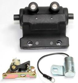 Ignition coil, point and condenser replaces Kohler No. 27737