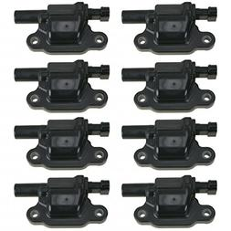 Ignition Coil Set of 8 Kit for Chevy Pontiac GMC Buick Cadil
