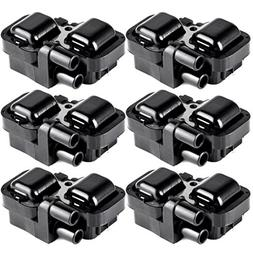 ECCPP Ignition Coils Pack of 6 Compatible with Mercedes-Benz