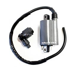 JOHN DEERE REPLACEMENT IGNITION COIL w/ OEM PLUG CAP # 21130