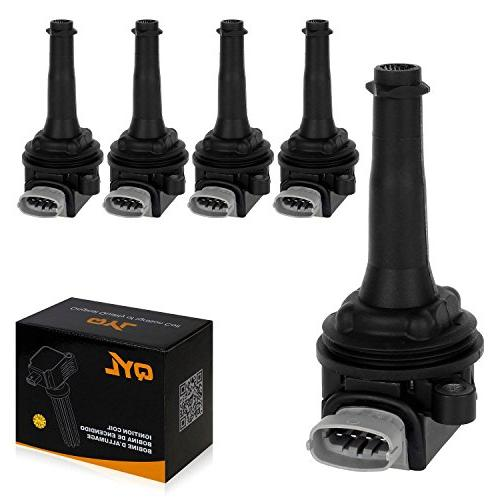 5pcs ignition spark coil pack fits volvo