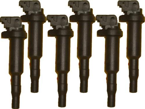 6 new oem ignition coils 00044 0221504470