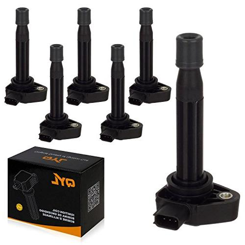 6pcs ignition coil pack fits honda accord