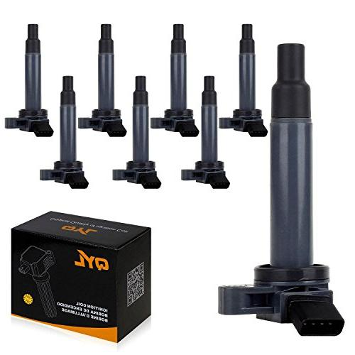 8pcs ignition coil pack fits toyota sequoia