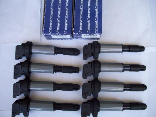 BMW coils 5 03-05 8 CYL SET OF FREE style