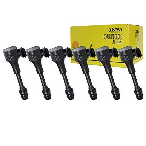 deal 6pcs new ignition coils for nissan