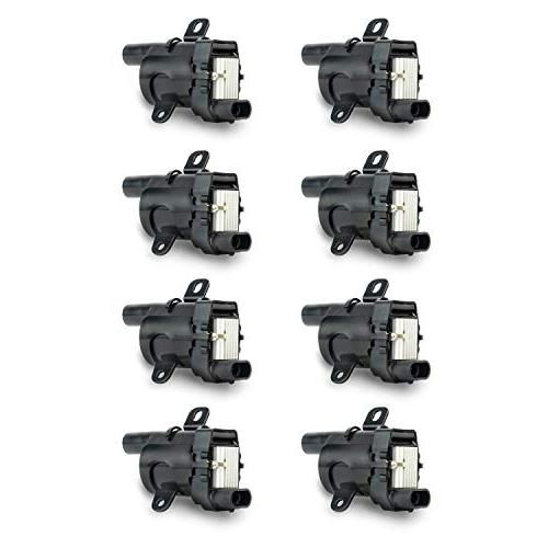 ignition coil pack set of 8 fits