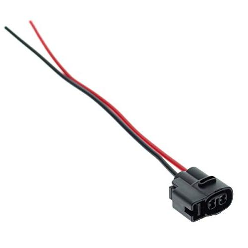 MOTOALL Ignition Coil Connector Pigtail Cable Way for Buick Cadillac Ford Geo Hyundai Jaguar Plymouth