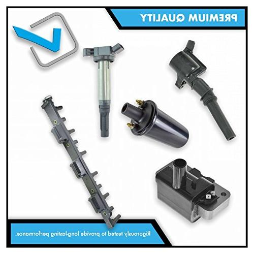 Ignition Coils Kit Set of 6 for Jeep Mitsubishi