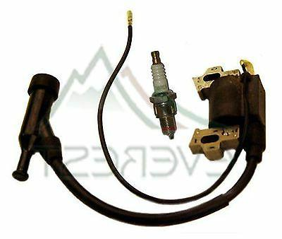new ignition coil free spark plug fits