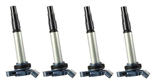 pack of 4 ignition coils for toyota