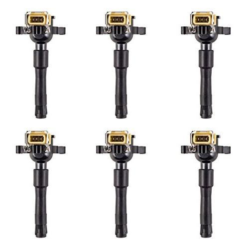 set of 6 ignition coils for various