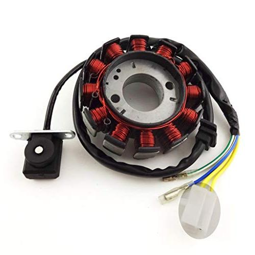 TC-Motor Coils Ignition Stator Magneto 4 Stroke GY6 Moped Scooter ATV