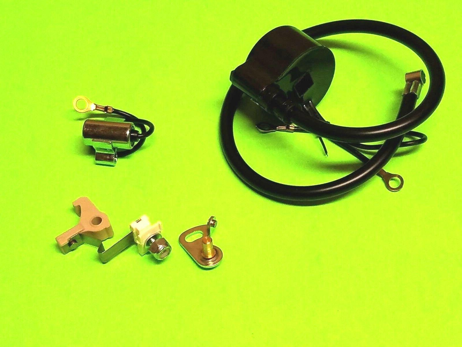 new ignition coil module w ignition set