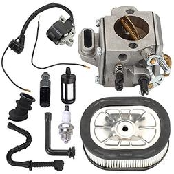 Harbot MS460 Carburetor Carb with Ignition Coil Tune Up Kit