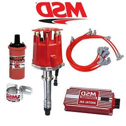 msd complete ignition kit digital 6al distributor