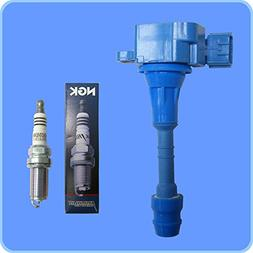 New  NGK Spark Plug +  Premium High Performance Ignition Coi