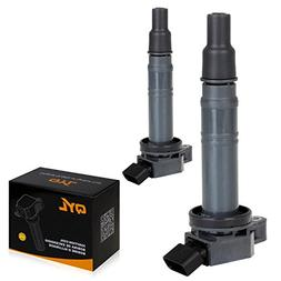 QYL Pack of 2 Ignition Coil Replacement for Toyota Lexus Sci