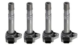 Pack of 4 Ignition Coils for 2001-2005 Honda Civic - Acura E