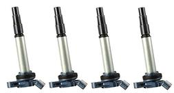 Pack of 4 Ignition Coils for Toyota - Prius Corolla Matrix V