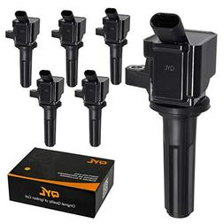 QYL Pack of 6 Ignition Coil for Buick Rainier Chevrolet Colo