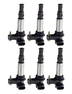 Pack of 6 Ignition Coils for Buick - Enclave - Cadillac - Tr