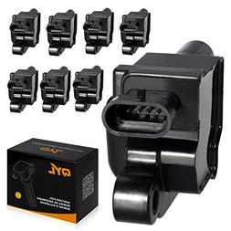 QYL Pack of 8 Ignition Coil Replaces GM# 12570616 ACDelco D5