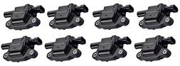 Pack of 8 Ignition Coils for - Cadillac Chevy GMC Pontiac -